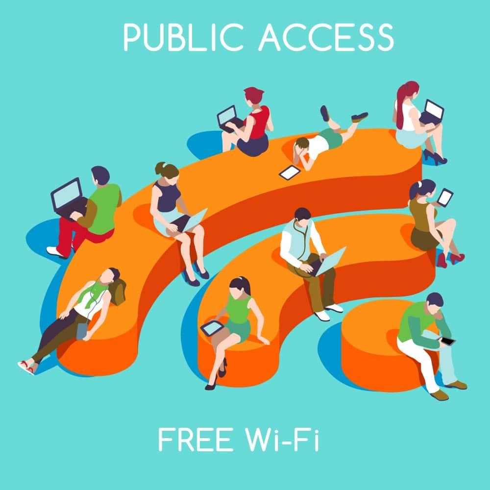 Wifi , Hotspot, Public wifi